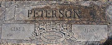 PETERSON, GENE J - Mohave County, Arizona | GENE J PETERSON - Arizona Gravestone Photos
