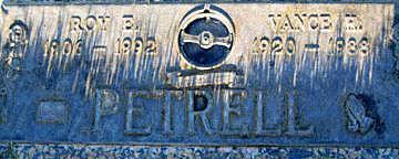 PETRELL, VANCE H - Mohave County, Arizona | VANCE H PETRELL - Arizona Gravestone Photos