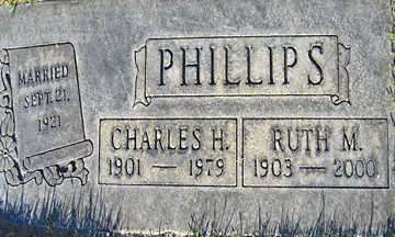 PHILLIPS, RUTH M - Mohave County, Arizona | RUTH M PHILLIPS - Arizona Gravestone Photos