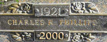 PHILLIPS, CHARLES R - Mohave County, Arizona | CHARLES R PHILLIPS - Arizona Gravestone Photos