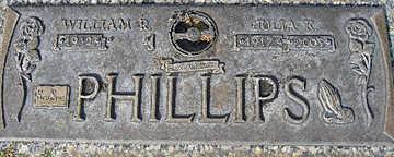 PHILLIPS, WILLIAM R - Mohave County, Arizona | WILLIAM R PHILLIPS - Arizona Gravestone Photos