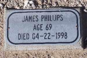 PHILLIPS, JAMES - Mohave County, Arizona   JAMES PHILLIPS - Arizona Gravestone Photos