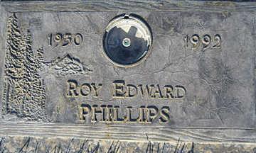 PHILLIPS, ROY EDWARD - Mohave County, Arizona | ROY EDWARD PHILLIPS - Arizona Gravestone Photos