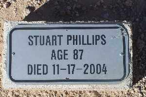 PHILLIPS, STUART - Mohave County, Arizona | STUART PHILLIPS - Arizona Gravestone Photos