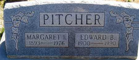 PITCHER, EDWARD B - Mohave County, Arizona   EDWARD B PITCHER - Arizona Gravestone Photos