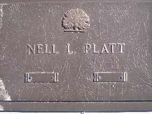 PLATT, NELL - Mohave County, Arizona   NELL PLATT - Arizona Gravestone Photos