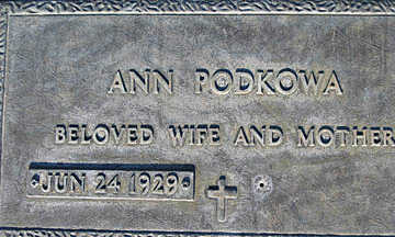 PODKOWA, ANN - Mohave County, Arizona | ANN PODKOWA - Arizona Gravestone Photos