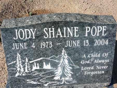 POPE, JODY SHAINE - Mohave County, Arizona   JODY SHAINE POPE - Arizona Gravestone Photos