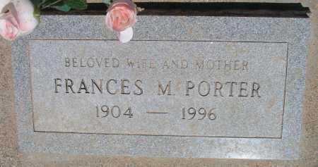 PORTER, FRANCES - Mohave County, Arizona | FRANCES PORTER - Arizona Gravestone Photos