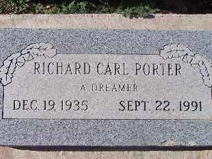 PORTER, RICHARD CARL - Mohave County, Arizona | RICHARD CARL PORTER - Arizona Gravestone Photos