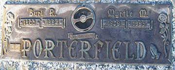PORTERFIELD, MYRTLE M - Mohave County, Arizona | MYRTLE M PORTERFIELD - Arizona Gravestone Photos
