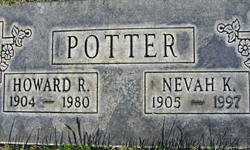 POTTER, NEVAH K - Mohave County, Arizona | NEVAH K POTTER - Arizona Gravestone Photos