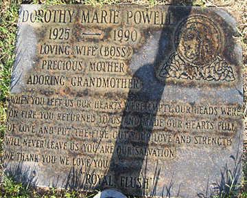 POWELL, DOROTHY MARIE - Mohave County, Arizona   DOROTHY MARIE POWELL - Arizona Gravestone Photos