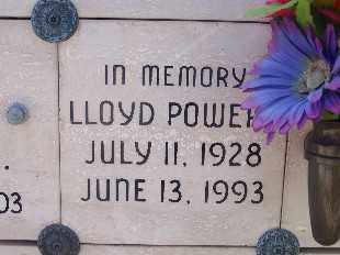 POWER, LLOYD - Mohave County, Arizona   LLOYD POWER - Arizona Gravestone Photos