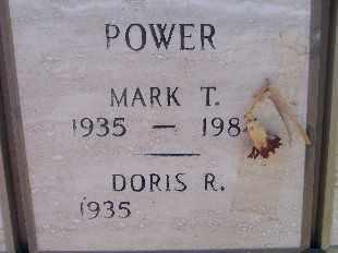 POWER, MARK T - Mohave County, Arizona | MARK T POWER - Arizona Gravestone Photos