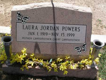 POWERS, LAURA JORDAN - Mohave County, Arizona | LAURA JORDAN POWERS - Arizona Gravestone Photos
