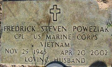 POWEZIAK, FREDERICK STEVEN - Mohave County, Arizona   FREDERICK STEVEN POWEZIAK - Arizona Gravestone Photos