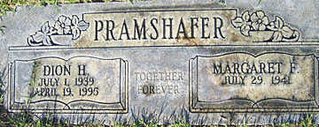 PRAMSHAFER, MARGARET F - Mohave County, Arizona | MARGARET F PRAMSHAFER - Arizona Gravestone Photos