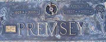 PREMSEY, ROBERT N - Mohave County, Arizona | ROBERT N PREMSEY - Arizona Gravestone Photos