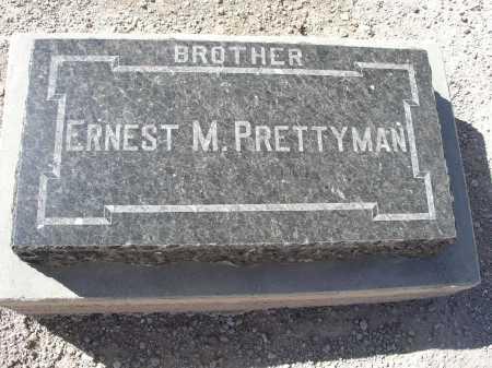 PRETTYMAN, ERNEST M. - Mohave County, Arizona   ERNEST M. PRETTYMAN - Arizona Gravestone Photos