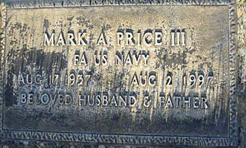 PRICE III, MARK A - Mohave County, Arizona | MARK A PRICE III - Arizona Gravestone Photos