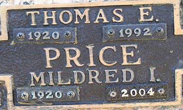 PRICE, MILDRED I - Mohave County, Arizona | MILDRED I PRICE - Arizona Gravestone Photos