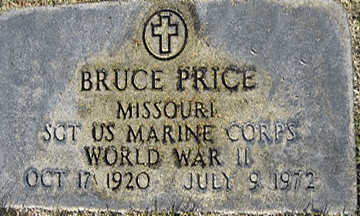 PRICE SR., BRUCE E - Mohave County, Arizona | BRUCE E PRICE SR. - Arizona Gravestone Photos