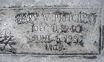 PRITCHETT, GARY W - Mohave County, Arizona | GARY W PRITCHETT - Arizona Gravestone Photos