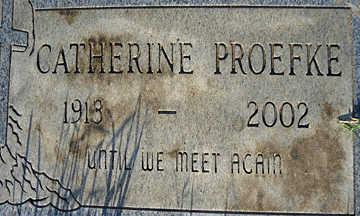 PROEFKE, CATHERINE - Mohave County, Arizona | CATHERINE PROEFKE - Arizona Gravestone Photos
