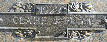 PUGH, CLARE J - Mohave County, Arizona | CLARE J PUGH - Arizona Gravestone Photos