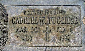 PUGLIESE, GABRIEL W - Mohave County, Arizona | GABRIEL W PUGLIESE - Arizona Gravestone Photos