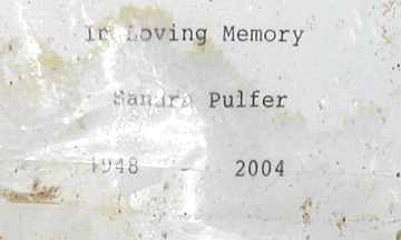PULFER, SANDRA - Mohave County, Arizona | SANDRA PULFER - Arizona Gravestone Photos