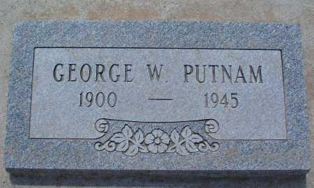 PUTNAM, GEORGE W. - Mohave County, Arizona | GEORGE W. PUTNAM - Arizona Gravestone Photos