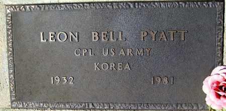 PYATT, LEON BELL - Mohave County, Arizona | LEON BELL PYATT - Arizona Gravestone Photos