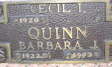 QUINN, CECIL I - Mohave County, Arizona | CECIL I QUINN - Arizona Gravestone Photos