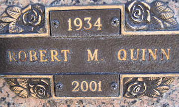 QUINN, ROBERT M - Mohave County, Arizona | ROBERT M QUINN - Arizona Gravestone Photos