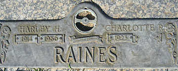 RAINES, HARLEY H - Mohave County, Arizona | HARLEY H RAINES - Arizona Gravestone Photos