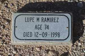 RAMIREZ, LUPE M - Mohave County, Arizona | LUPE M RAMIREZ - Arizona Gravestone Photos