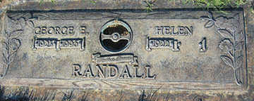 RANDALL, GEORGE E - Mohave County, Arizona | GEORGE E RANDALL - Arizona Gravestone Photos