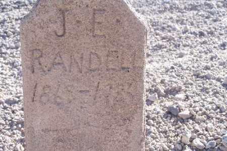 RANDELL, J.E. - Mohave County, Arizona | J.E. RANDELL - Arizona Gravestone Photos