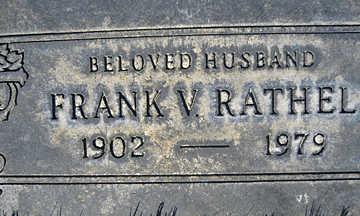 RATHEL, FRANK VOGEL - Mohave County, Arizona | FRANK VOGEL RATHEL - Arizona Gravestone Photos