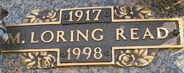 READ, M LORING - Mohave County, Arizona   M LORING READ - Arizona Gravestone Photos