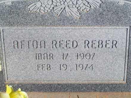 REBER, AFTON REED - Mohave County, Arizona | AFTON REED REBER - Arizona Gravestone Photos