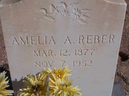 REBER, AMELIA A - Mohave County, Arizona | AMELIA A REBER - Arizona Gravestone Photos