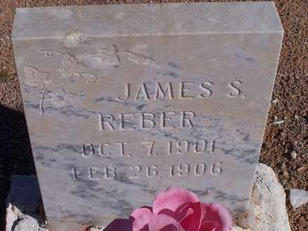 REBER, JAMES S - Mohave County, Arizona   JAMES S REBER - Arizona Gravestone Photos