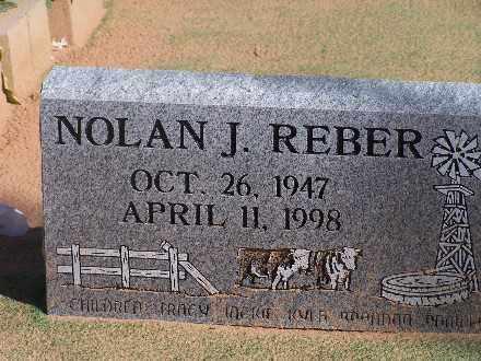REBER, NOLAN J - Mohave County, Arizona | NOLAN J REBER - Arizona Gravestone Photos