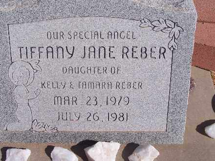 REBER, TIFFANY JANE - Mohave County, Arizona | TIFFANY JANE REBER - Arizona Gravestone Photos