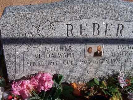 REBER, VINDA - Mohave County, Arizona | VINDA REBER - Arizona Gravestone Photos