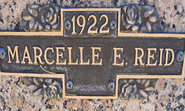 REID, MARCELLE E - Mohave County, Arizona | MARCELLE E REID - Arizona Gravestone Photos