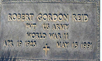 REID, ROBERT GORDON - Mohave County, Arizona | ROBERT GORDON REID - Arizona Gravestone Photos